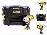 DEWALT DCF899HNT-XJ - Llave Impacto sin escobillas XR 18V 1/2' Alto Par 950Nm con anillo de retención sin cargador/batería con maletín TSTAK II