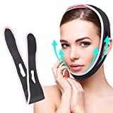 Face Lifting Up Belt Bandage Double Chin Reducer Facial Slimming Strap Painless Anti Wrinkle V Chin Face Lift Strap for Women Girls