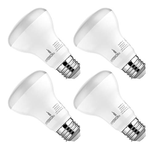 Hyperikon BR20 LED Bulb Dimmable, 8W=50W, Wide Flood Light CRI 90+, E26 Base, UL, Energy Star, Daylight White, 4 Pack
