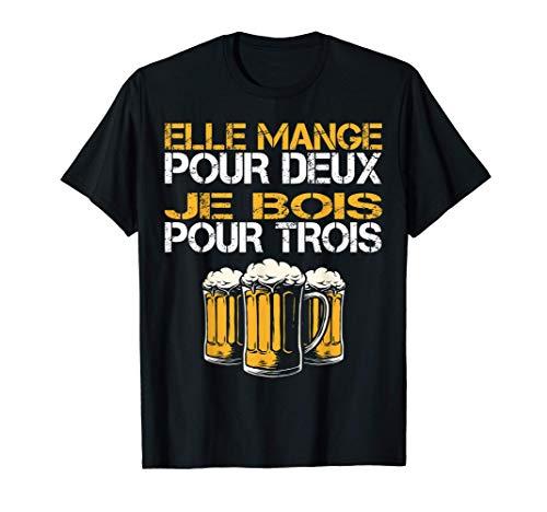 Homme Nouveau Papa Parents Humour Bière Nouvelle Naissance Annonce T-Shirt