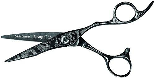 Olivia Garden Dragon - Tijeras de peluquería (5,50'')