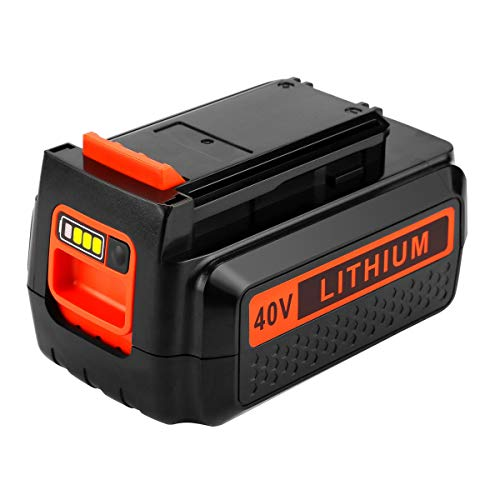 2.0Ah Replacement for Black and Decker 40V Battery Max Lithium LBX2040 LBX36 LBXR36 LBXR2036 LST540 LCS1240 Cordless Power Tool