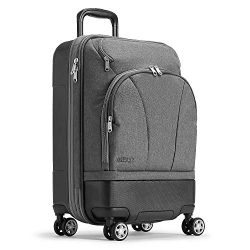 eBags Mother Lode 22 Inches Carry-On Spinner (Heathered Graphite)