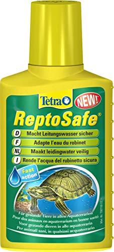 Tetra ReptoSafe 100 ml - Neutraliza los componentes nocivos y garantiza que el agua del grifo sea segura para los reptiles acuáticos, tales como tortugas y anfibios