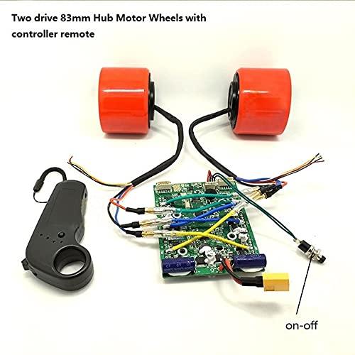 Kits de Ruedas de Motor sin escobillas de monopatín eléctrico de 75mm...