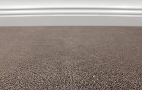 Teppichboden Auslegware Vorwerk Bijou UNI Braun 500 x 200 cm 22,80 EUR/m²