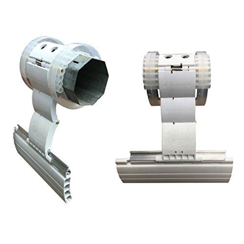 ATECNICA - Bloqueo de seguridad anti-levantamiento, para persianas y compuertas, con eje de 60mm