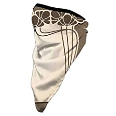 SIZE:Face Mask about 20 inch x 9.84 inch,Weight: 1.21 oz.It is THIN and LIGHTWEIGHT, breathable without feeling smothered; It is the moisture wicking and quick dry fabric that keeps you cool Lightweight & Breathable:The moisture wicking fabric transf...
