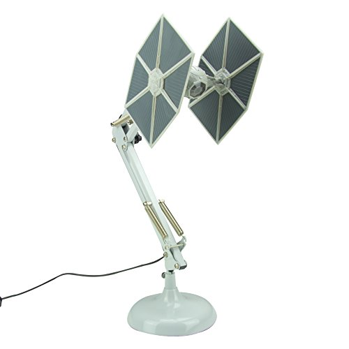 Star Wars lámpara de Mesa Tie Fighter, Multicolor, One Size