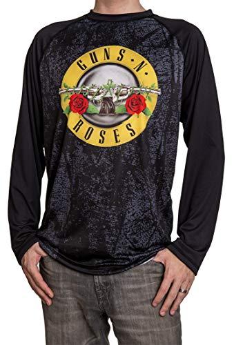 Calhoun Official Guns N Roses Long Sleeve Men's Rash Guard (Large)