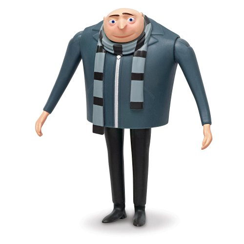 Ich - Einfach unverbesserlich 2 - Minion Gru Figur 8cm [UK Import]
