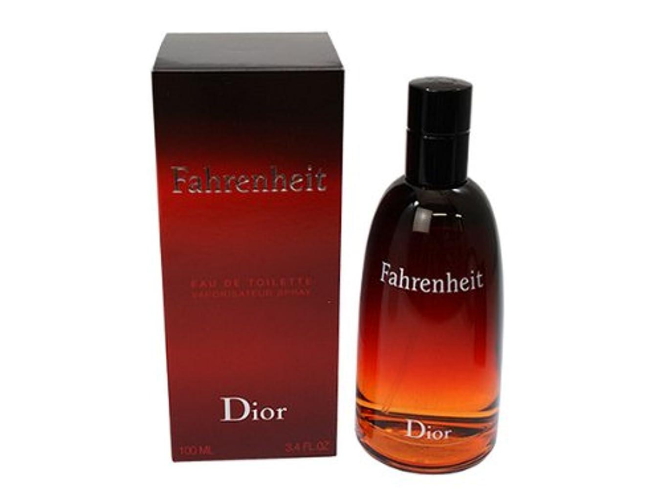 蒸発に対応競争ファーレンハイト Dior クリスチャンディオール オードトワレ EDT 100ML メンズ用香水、フレグランス