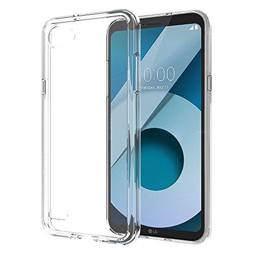 Ferilinso Funda LG Q6, Protección contra caídas Air híbrido Cristal Claro TPU...