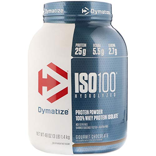 Whey Protein Iso100 1,36kg (3 LBS) - Chocolate - Dymatize Nutrition