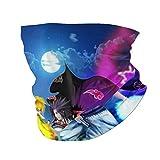 Puilkfgt Tube Head Wrap Headwear Naruto Great Neck Polaina para Esquí, Paseos, Senderismo, Motos, Ciclismo, Paseadores de Perros