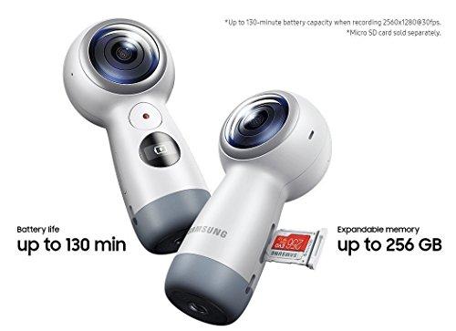 SAMSUNG三星サムスンギアGear360度VR4Kカメラ2017年版SM-R210[並行輸入品]