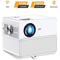 Towond TWD001-CLM Full HD 1080p 6500-Lumens LCD Home Theater Projector