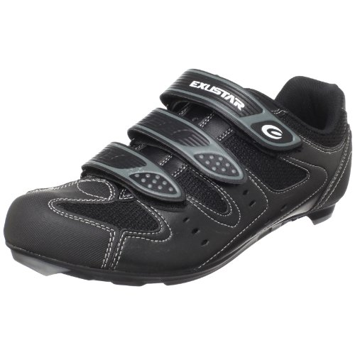 Exustar - Zapatillas de ciclismo para hombre blanco blanco, color...
