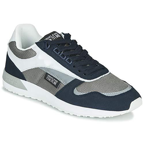 VERSACE JEANS COUTURE EOVVBSR2 Sneakers heren Blauw/Grijs/Wit Lage sneakers