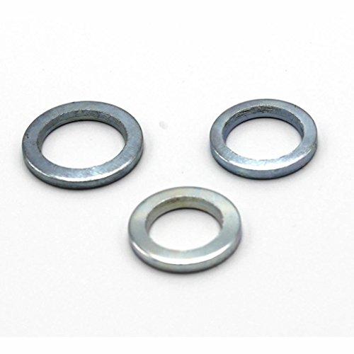 30 Stück mai® Fitschenringe RN 324 Stahl verzinkt gemischt Sortiment Ø 10,2/11,2/12,2 mm