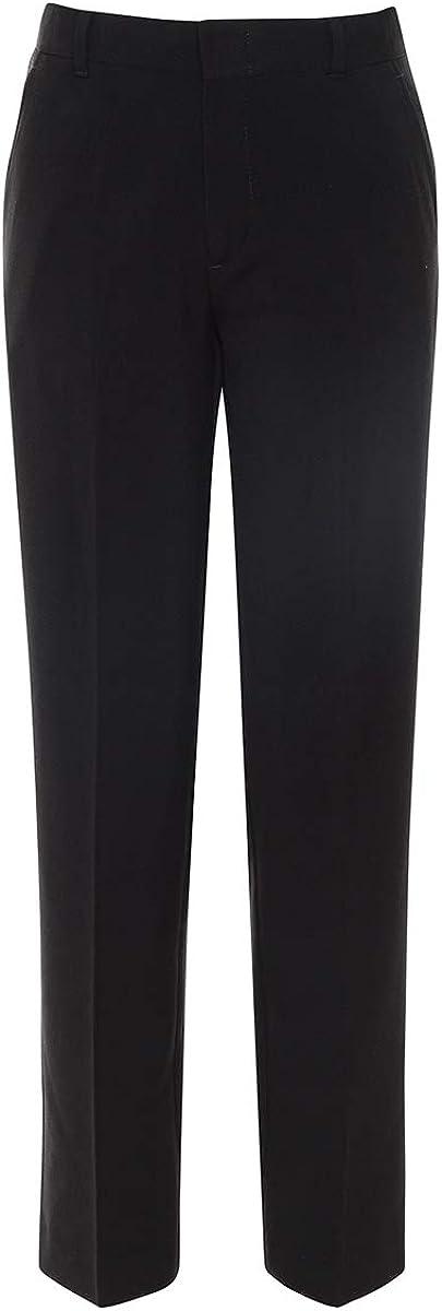 Chaps Boys' Flat Front Dress Pants