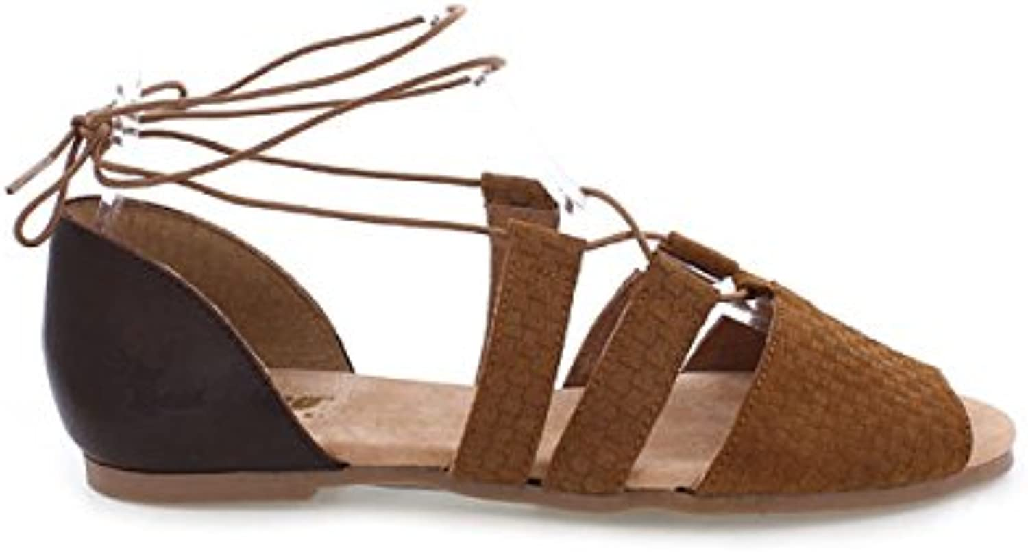 MTNG 94479 Women US 6.5 Brown Sandals