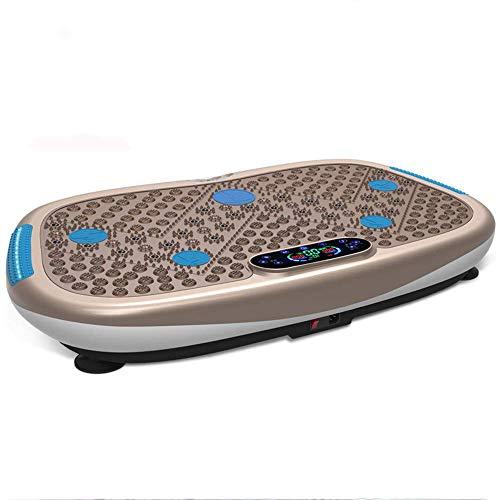 MJ-Sports Plataforma oscilante, Vibration Power Plates Trainer Máquina de Ejercicios con Control Remoto y música Bluetooth, masajeador de agitación de Cuerpo Entero