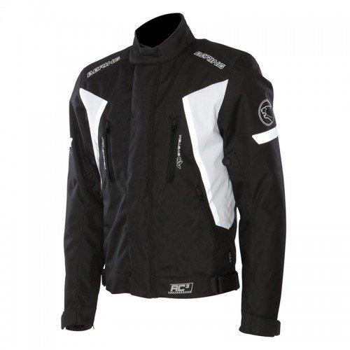 BERING Giacca moto Katana, nero/bianco, XL