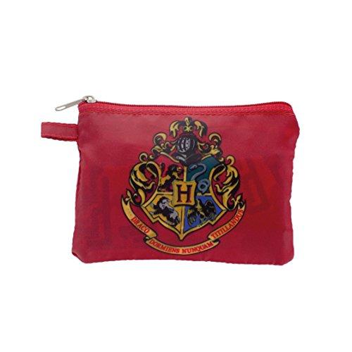 Paladone Harry Potter Reusable Shopper Canvas & Beach Tote Bag, 13 cm, Multi, Borsa per la spesa riutilizzabile. Unisex-Adulto