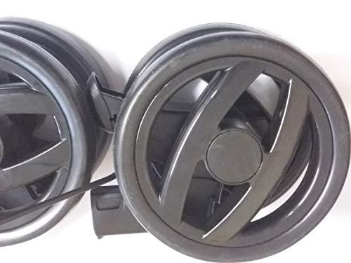 Peg Perego Doppel Hinter Rad schwarz für Pliko P3 compact