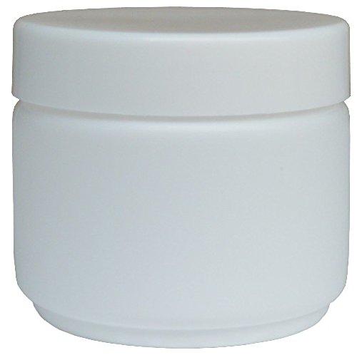 20 Stück Cremedosen (Cremetiegel) inklusive Deckel/Tiegel Basis 100ml (WEISS)