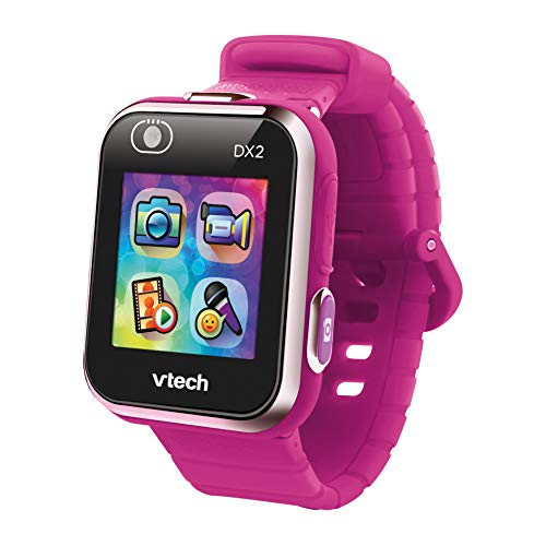 VTech- Kidizoom Smart Watch DX2 para Niños, Color rosa (frambuesa) (80-193847)
