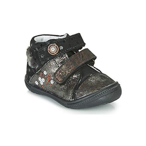 CATIMINI ROSSIGNOL Enkellaarzen/Low boots meisjes Zwart/Goud Laarzen