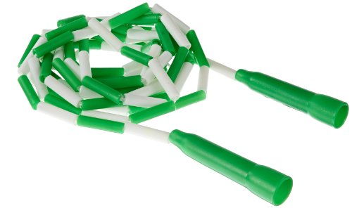 Sportime Jump Rope with Plastic Links, 16 Feet, Green - 1004680