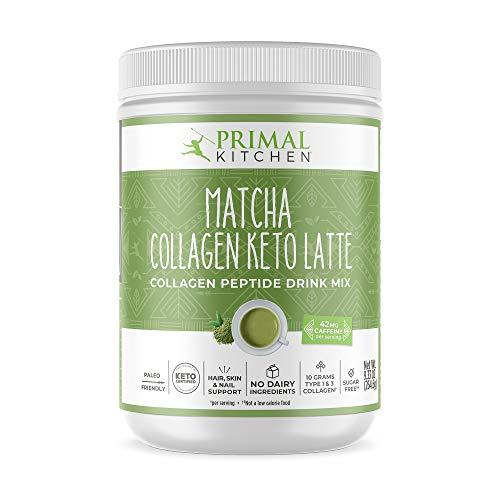 Primal Kitchen Collagen Keto Latte, Matcha, 9.33 Oz