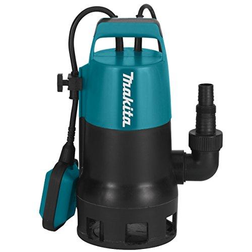 Makita PF0410 elektrische Tauchpumpe, Schmutzwasser bis 35 mm Partikelgröße, 400 Watt