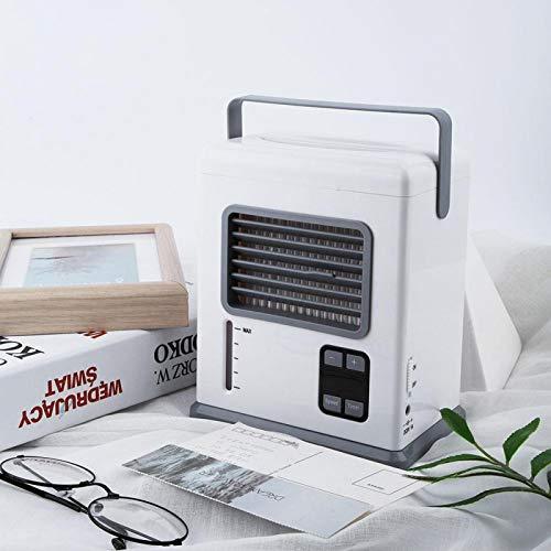 Omabeta Aparatos electrodomésticos Ventiladores Refrigerador de Aire Ligero fácil de Llevar para la Sala de Oficina en casa