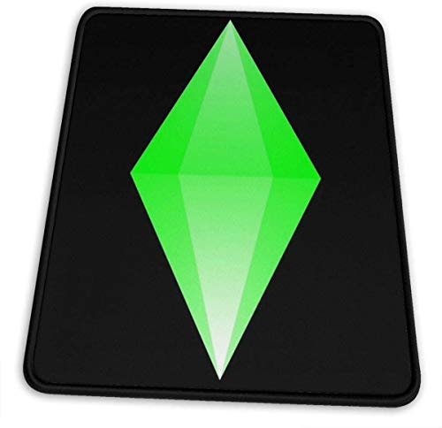 The Sims Green Diamond (Good Moodlet) Hemming The Mouse Pad 10 X 12 Inch Esports