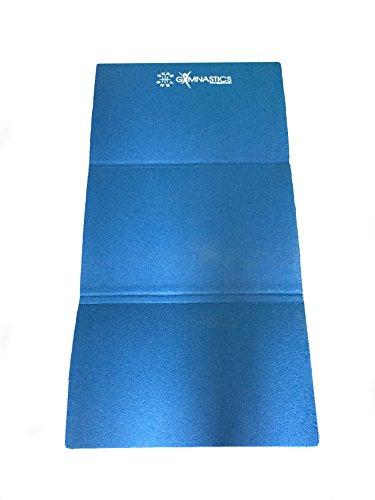 Sure Shot Faltbare Gymnastikmatte, Unisex, Folding Gym, blau, Nicht zutreffend