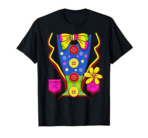 Circo de disfraces de payaso Camiseta