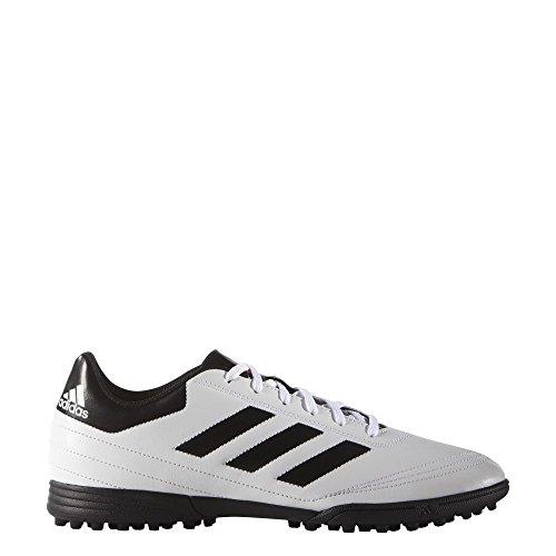 adidas Goletto VI TF, Men's Football Boots, White (Ftwwht/Solred/Cblack Ftwwht/Solred/Cblack), 12 UK...