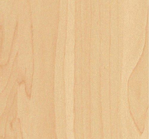 i.stHOME Klebefolie Möbelfolie Buche hell - Möbelfolie Holzoptik Buchenholz - Dekorfolie selbstklebend 45 x 200 cm - Selbstklebefolie
