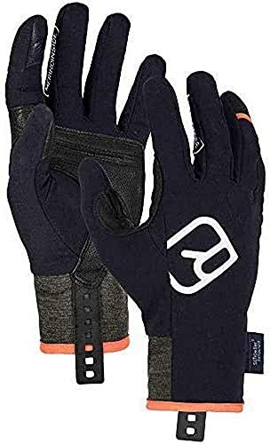ORTOVOX Herren Tour Light Handschuhe, Black Raven, S