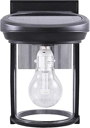 Gama Sonic GS-97B-F Imperial Bulb Light Outdoor Solar Lamp, 3