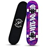 Zoom IMG-1 skateboard gxyas per principianti completo