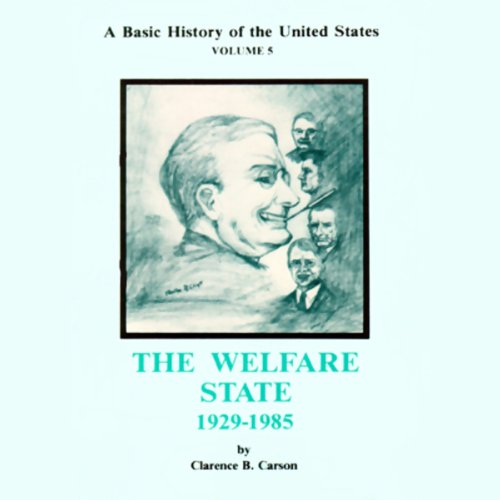 A Basic History of the United States, Volume 5 audiobook cover art