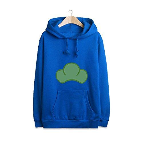 Sunkee Japonais Manga SIX SAME FACES Konya wa Saikou Mr.Osomatsu San ED Anime bonbons colorés Jacket Hoodie Sweater ( Vous pouvez choisir la taille correcte selon le tableau des tailles sur l'Amazone) (M, Bleu)