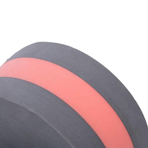 Wosune Mancuerna de Agua, mancuerna de Espuma de 248 g, Deportes de Interior para niños Adultos para Ejercicio de Deportes acuáticos(Gray and Red)