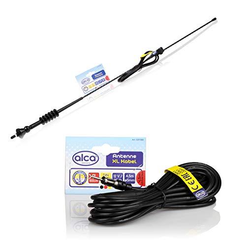 Universale auto AM//FM asta dell antenna antenna tetto vite in tipo nero lungo 17/cm 17,5/cm