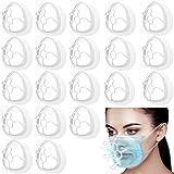 Soporte 3D Soporte de Protección de Lápiz Labial 3D Prevenir Eliminación de Maquillaje Mejora Espacio de Respiración Ayuda a Respirar Suavemente para Niños Correr Verano (20)